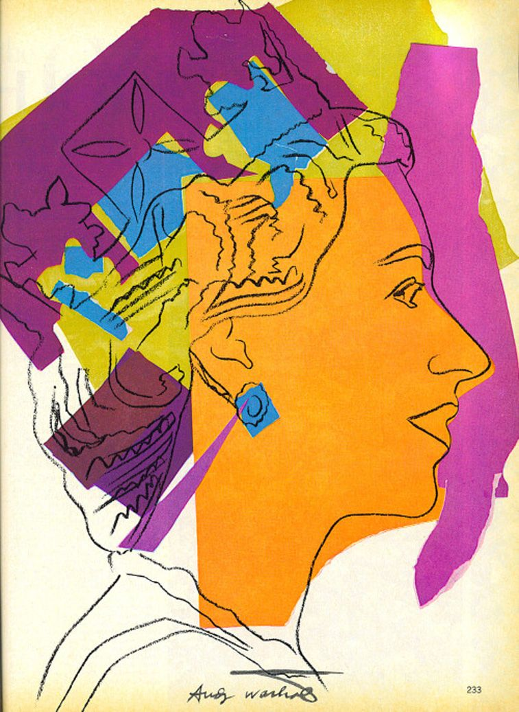 Lesser-known art of Andy Warhol #andywarhol