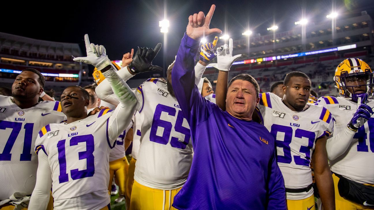 The transformation of LSU and head coach Ed Orgeron