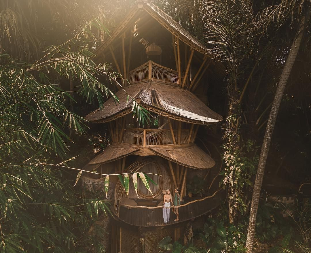 """Bali Life Living on Instagram: """"Bamboo house dreams"""
