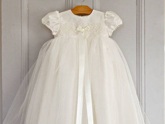 A personal favorite from my Etsy shop https://www.etsy.com/au/listing/268784502/sofia-christening-gown-tulle-gown