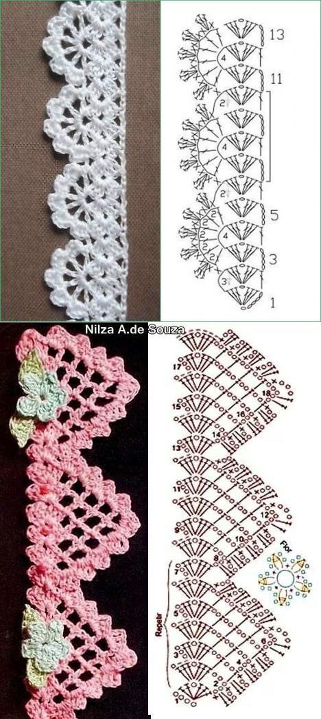 liveinternet.ru | crochet | Pinterest | Ganchillo, Tejido y Orillas