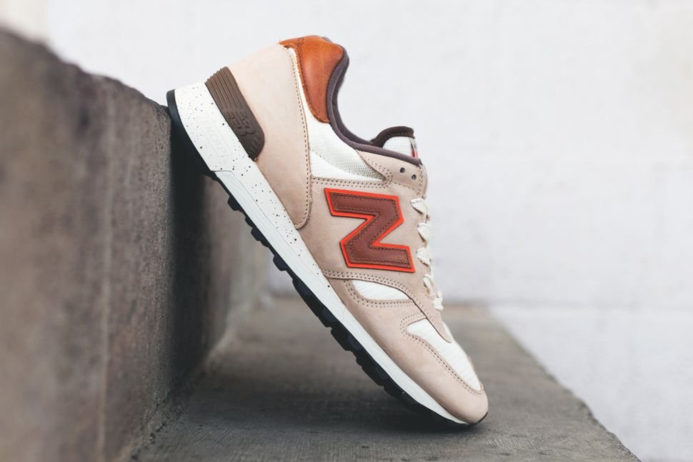 New Balance 1300 Made in USA (Brown, Beige & Red)