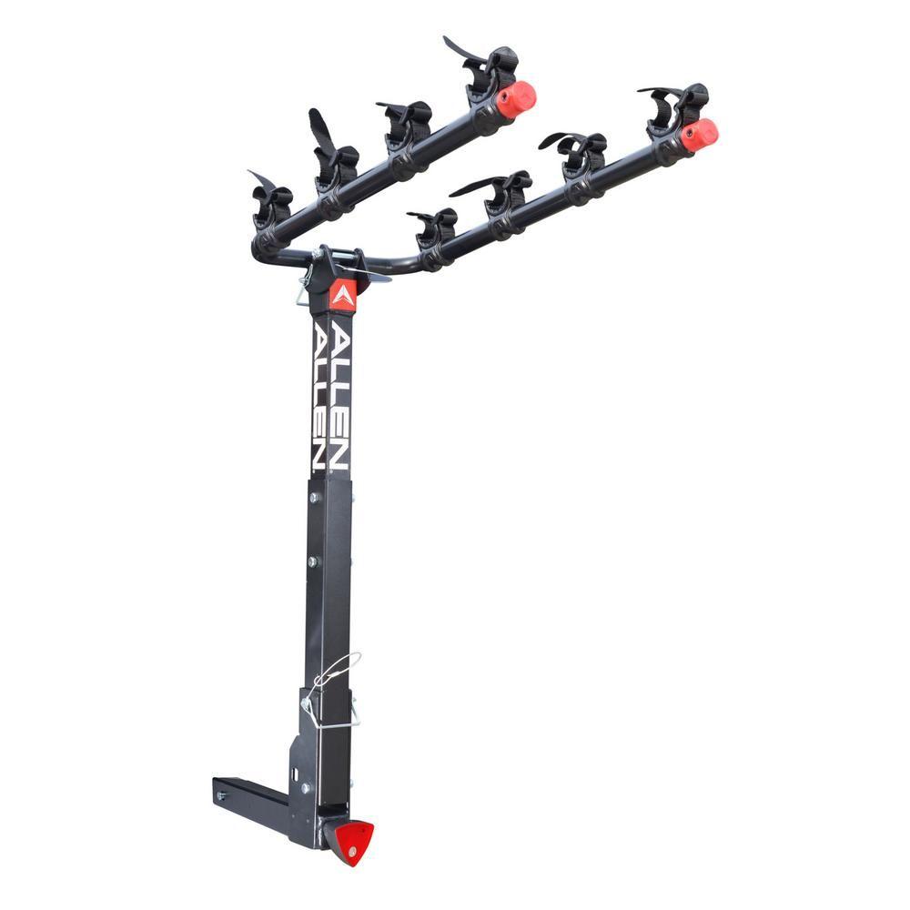 Allen Sports 140 Lbs Capacity Locking 4 Bike Vehicle 2 In Hitch