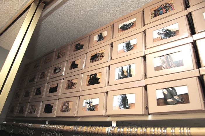 Charmant Brilliant Idea For Shoe Boxes! Take A Picture Of The Shoes Inside