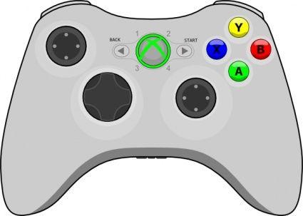 Xbox Gamepad Clipart Image