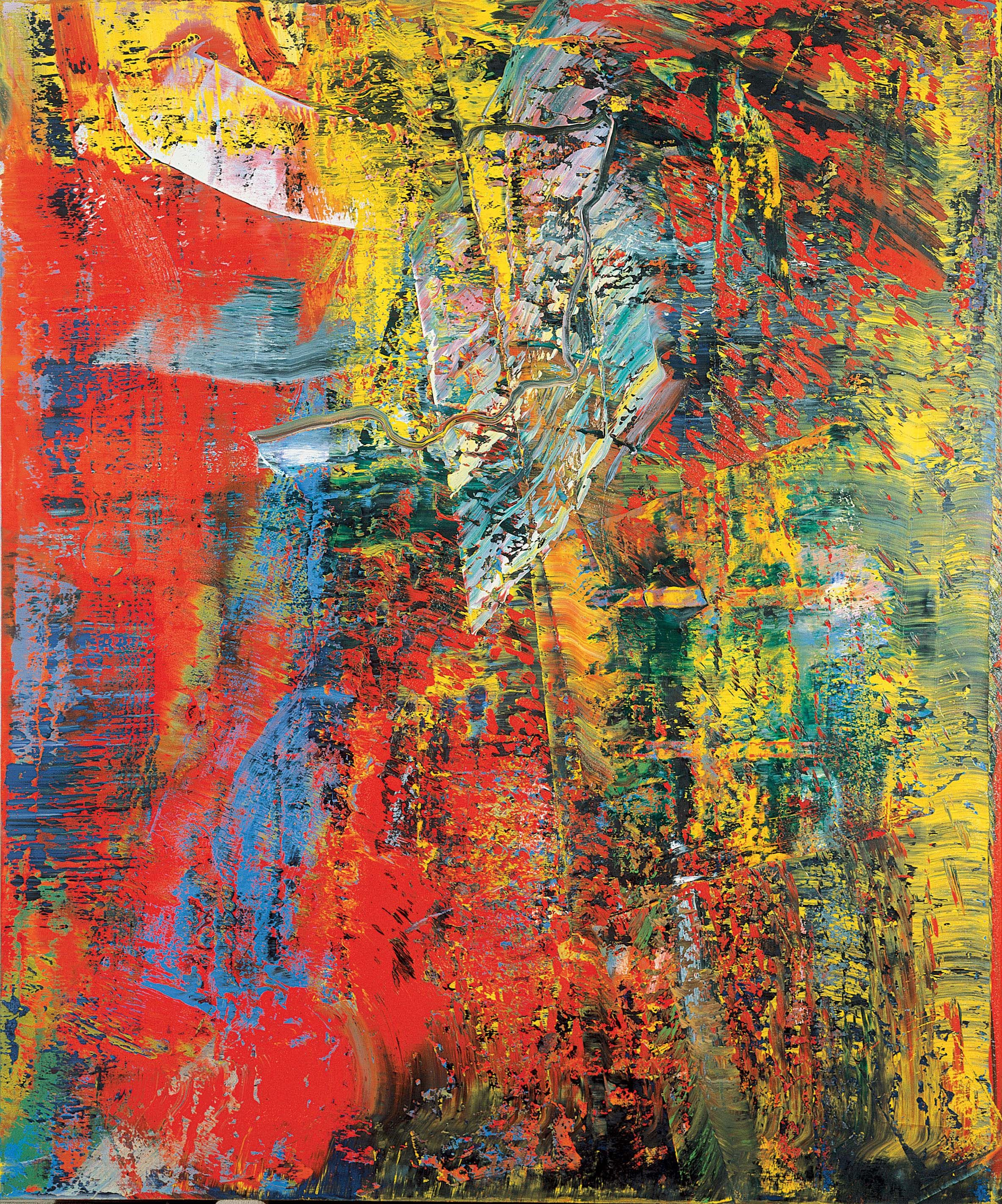 Gerhard Richter I Actually Like This One Better Than The 34 Million One Konstarterna Abstrakt Abstract Painting