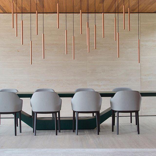 PA House | 2016 #architecture #brazil #brazilianarchitecture #brazilianstyle #cool #contemporary #curitiba #gaetanopesce #house #home #housing #modern #midcentury #midcenturymodern #style #studioguilhermetorres