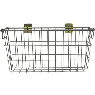 CargoSmart Medium Wire Track Basket 24in.W x 6in.D x 12in