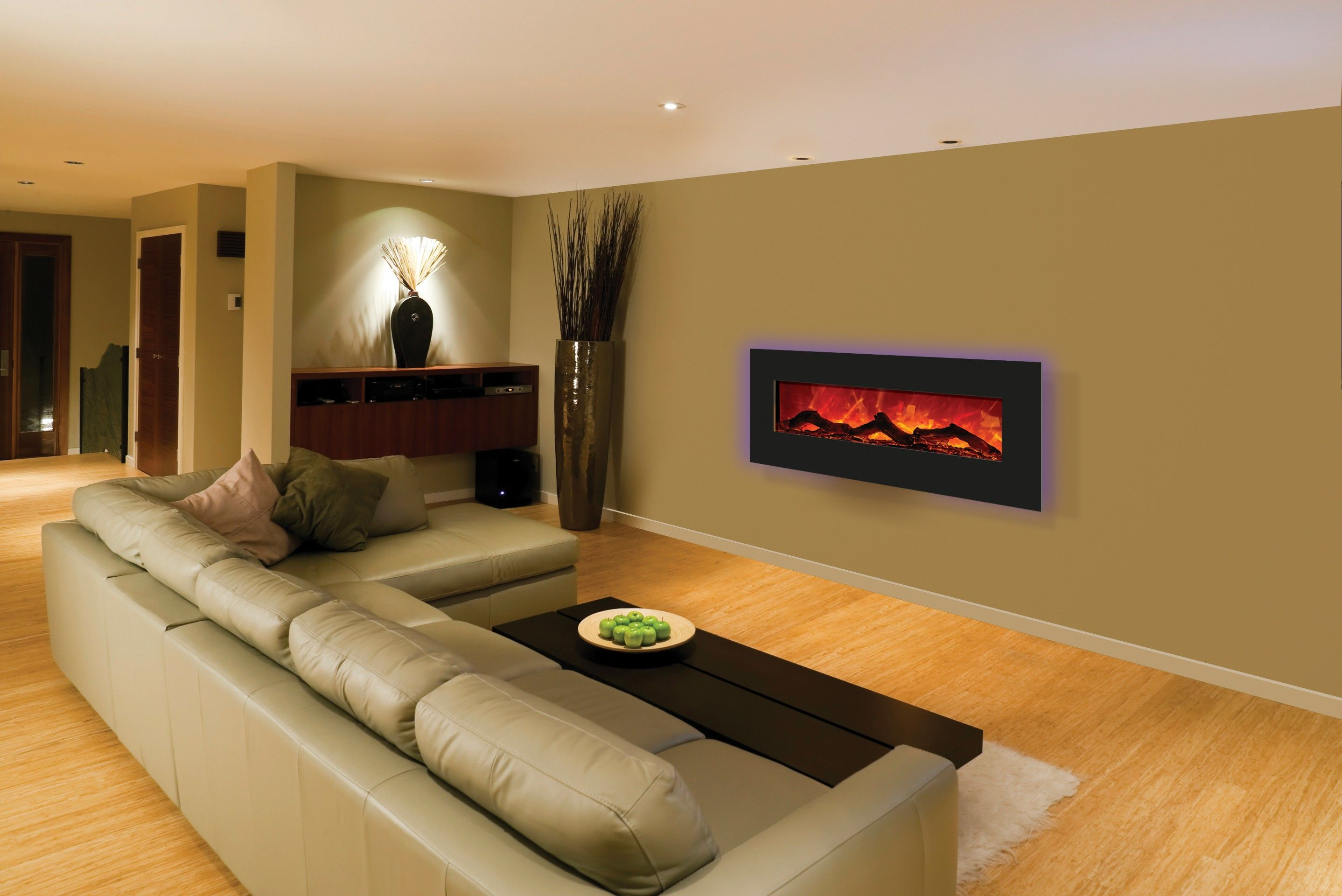 Wall Mounted Electric Fireplace Design Ideas Oppe
