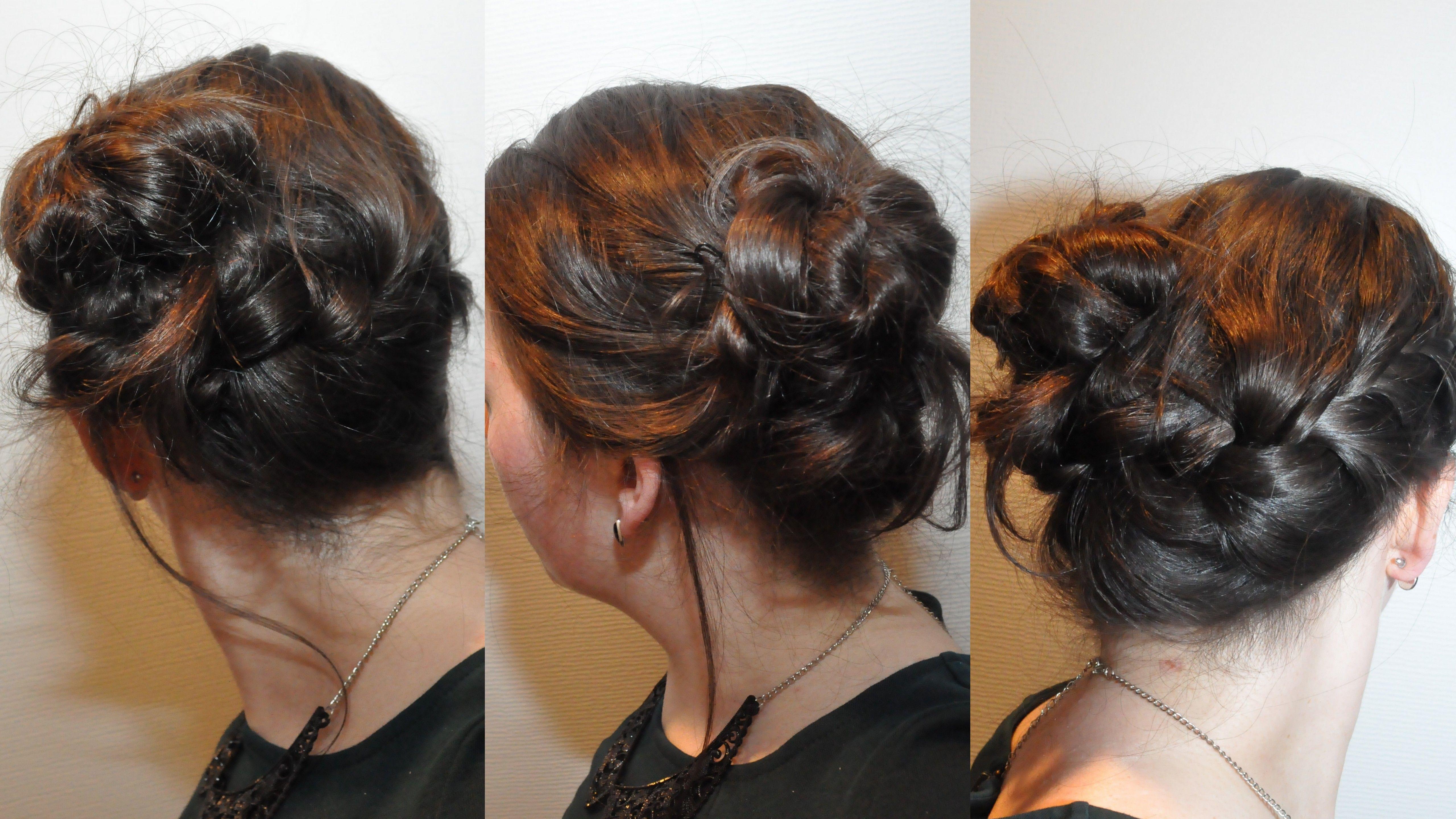Braided updo for workparty dorienskius daily hairdo pinterest