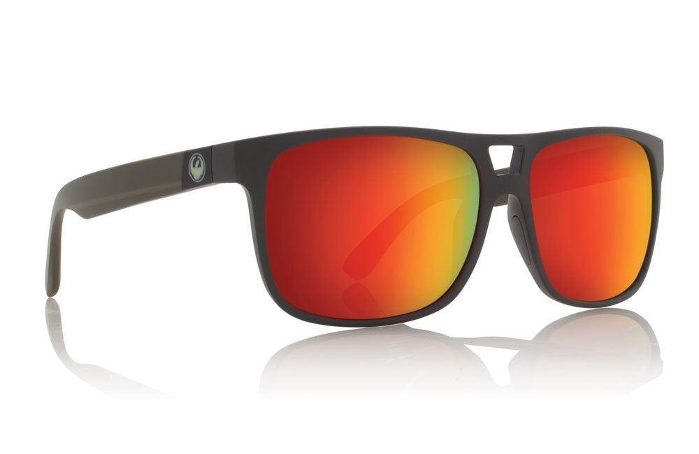 Dragon - Roadblock Matte Magnet Grey H2O   Red Ion P2 Sunglasses ... 9d27db122e