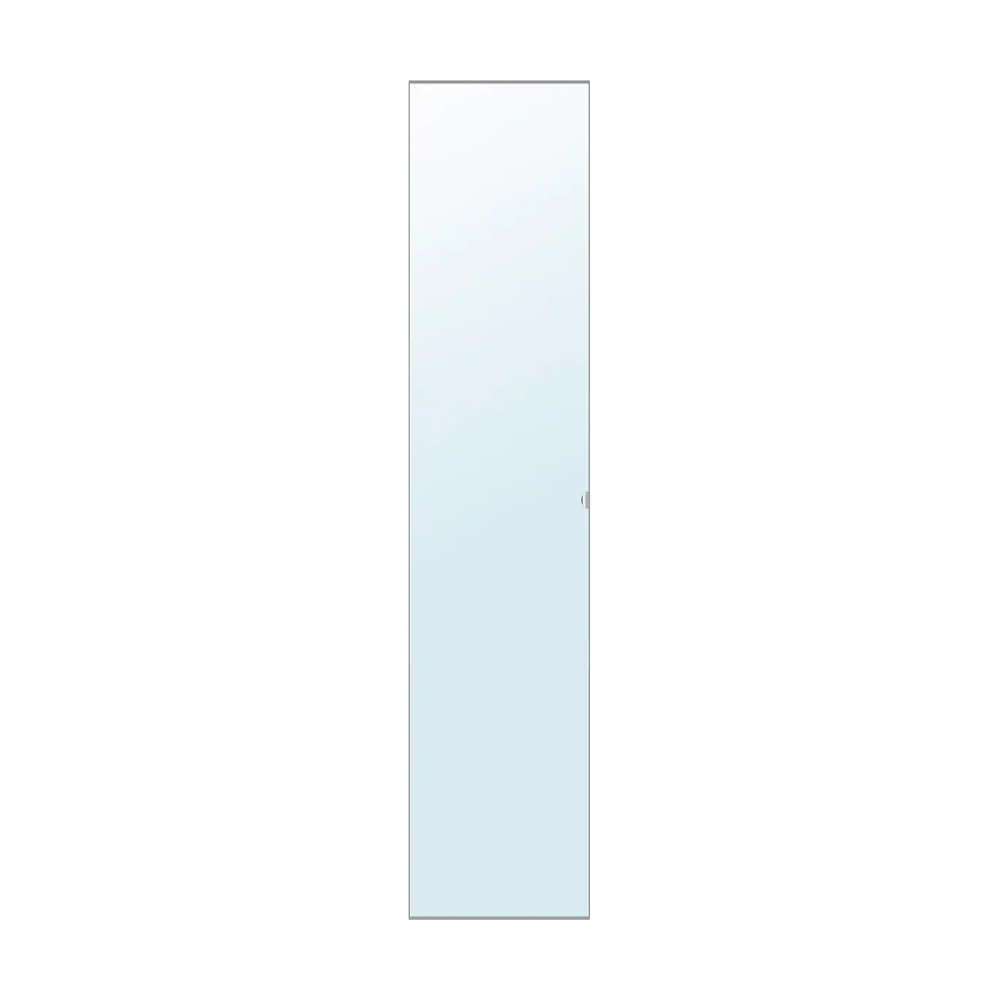 Vikedal Mirror Glass Door With Hinges 50x229 Cm Ikea En 2020 Porte Miroir Nettoyer Vitres Ikea