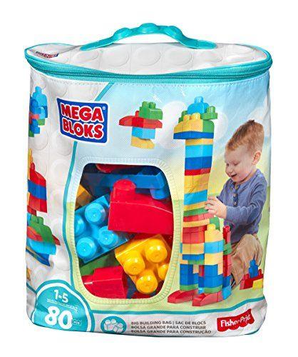 Mega Bloks 80piece Big Building Bag Classic You Can Get