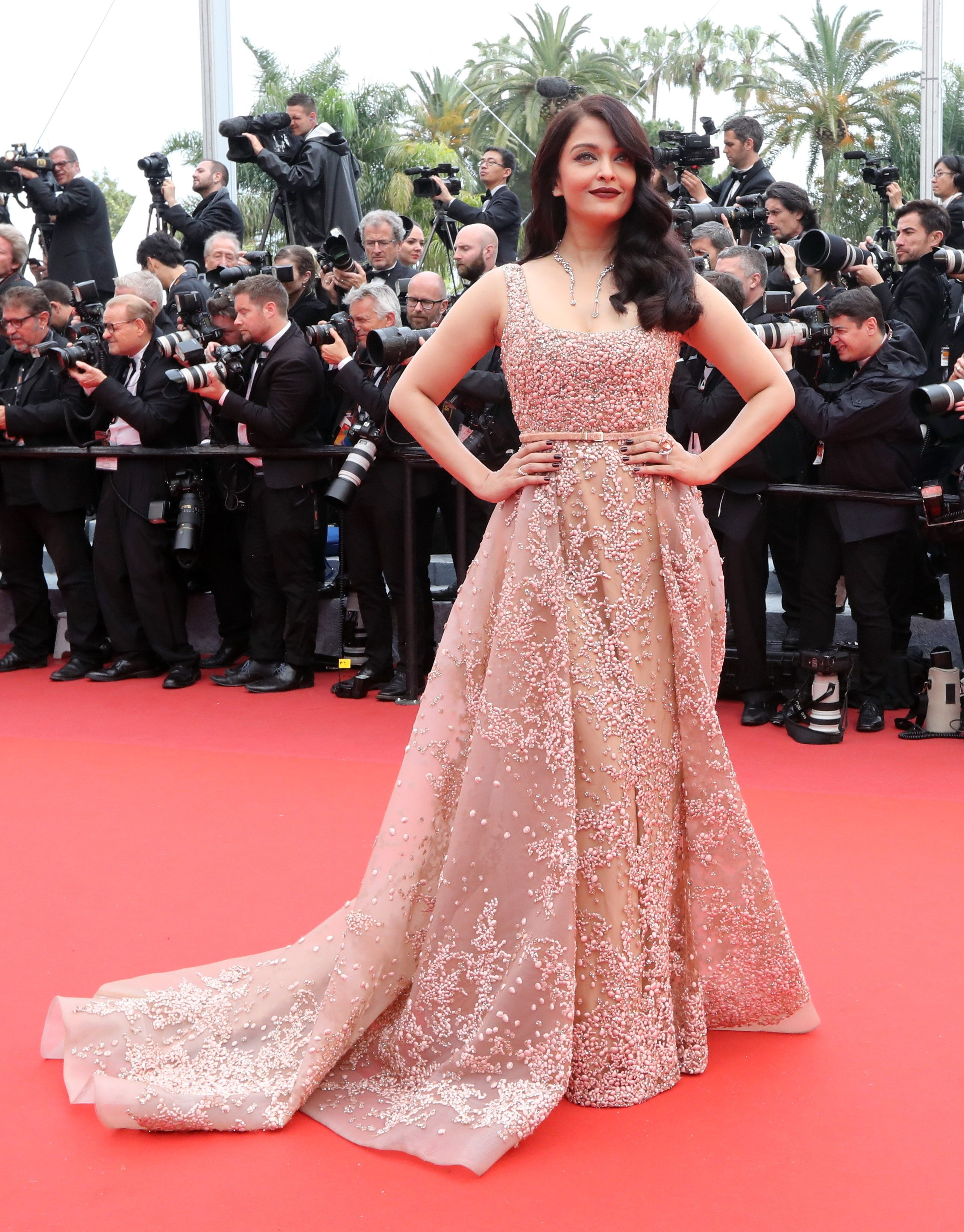 Aishwarya Rai in Elie Saab dress Cannes Film Festival 2016- Day 4 ...