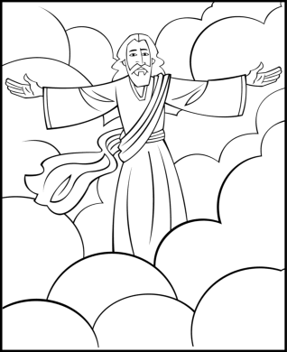 25+ Second coming of jesus coloring page info