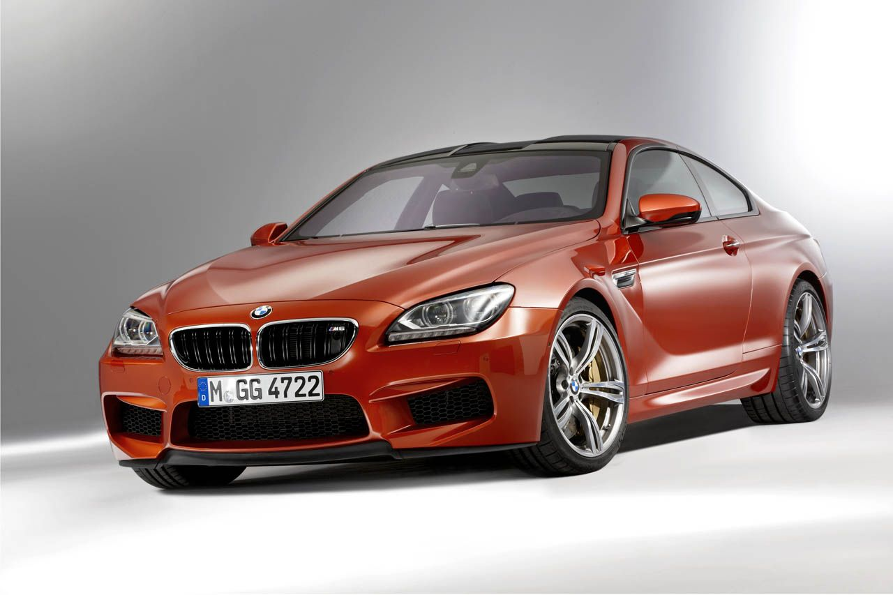 Soooooo hot! BMW M6 w/ V8-twin turbo, 560-hp, 500lb of