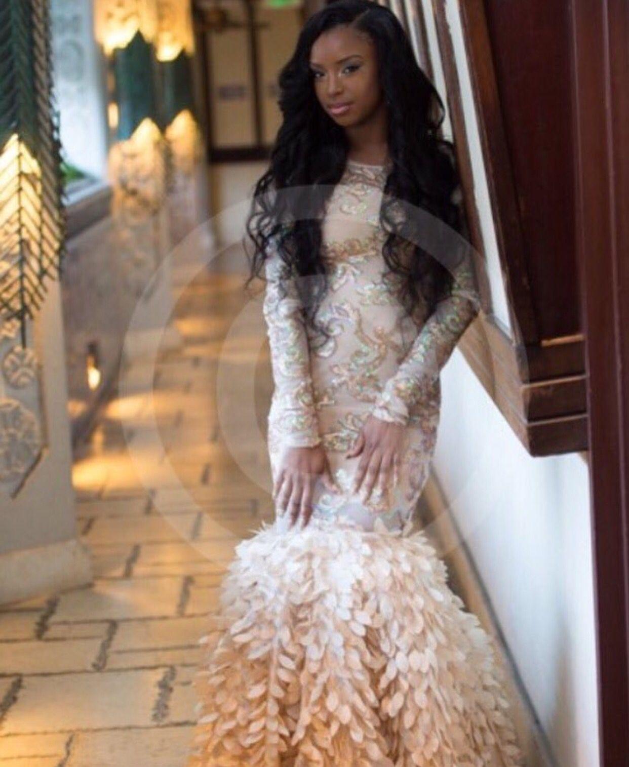 White And Tan Prom 2k17 Prom Dresses Prom 2k16 [ 1515 x 1242 Pixel ]