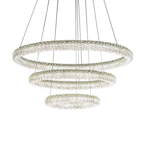 Branden 1 Light Led Crystal Pendant Mercer41 Ceiling Pendant Lights Ceiling Lights Metal Shades