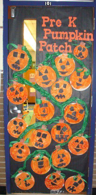 October Classroom Decor ~ October door decoration classroom ideas pinterest