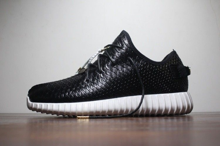 purchase cheap b0d3a b8890 hombres Yeezy 350 Boost Negro Blanco Adidas Originals Trainers Zapatos  AQ2658