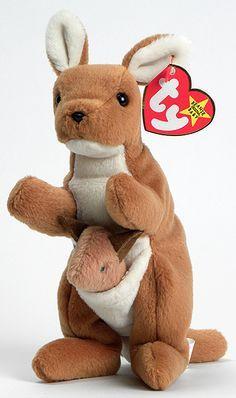 Pouch - Kangaroo - Ty Beanie Babies 20   23592d4edb5