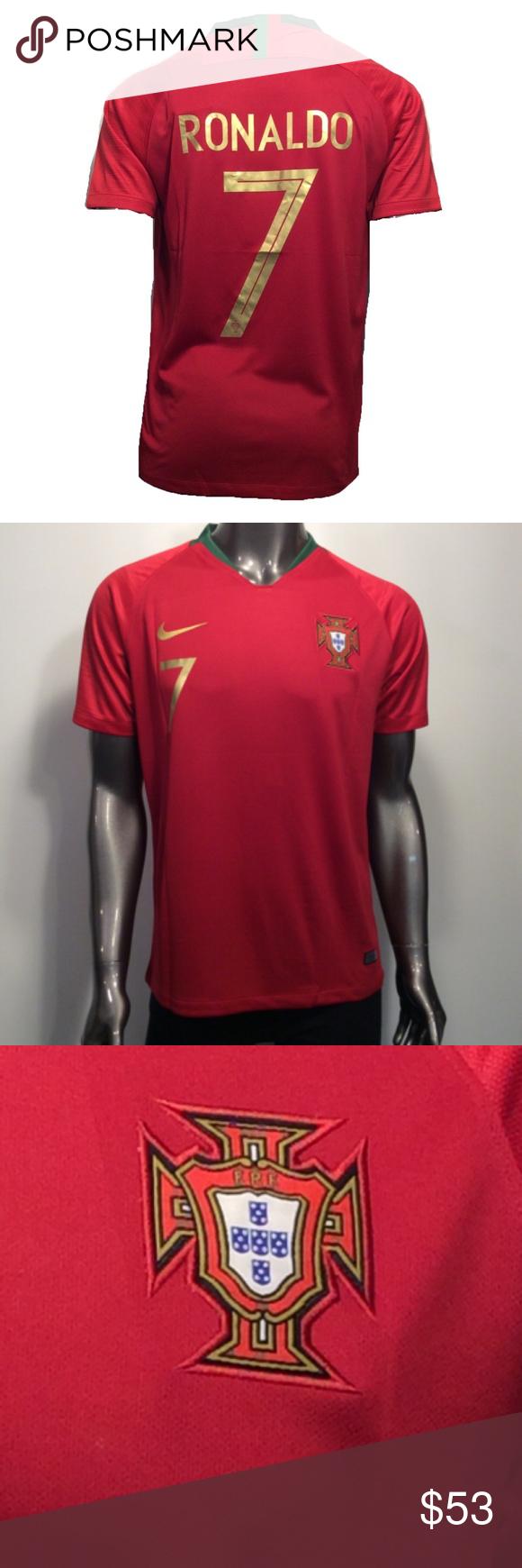 2018 World Cup Cristiano Ronaldo Xl Soccer Jersey 2018 World Cup Nike Portugal Cristiano Ronaldo 7 Xl Home Soccer Jers Soccer Jersey Ronaldo Cristiano Ronaldo