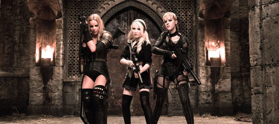 Sucker Punch Pinterest: Sweet Pea (Abbie Cornish), Babydoll (Emily Browning) And