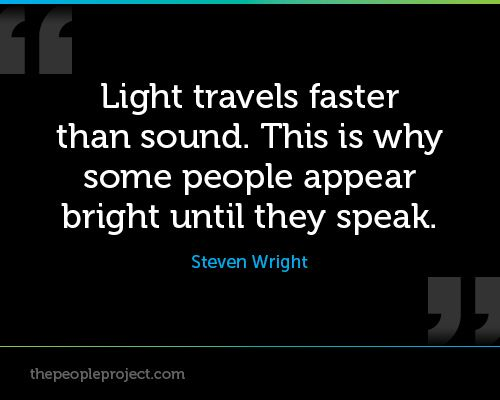 Why does light travel faster than sound