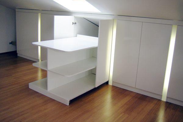 auch cool m bel bei schr gen pinterest dachschr ge dachboden und dachgeschosse. Black Bedroom Furniture Sets. Home Design Ideas