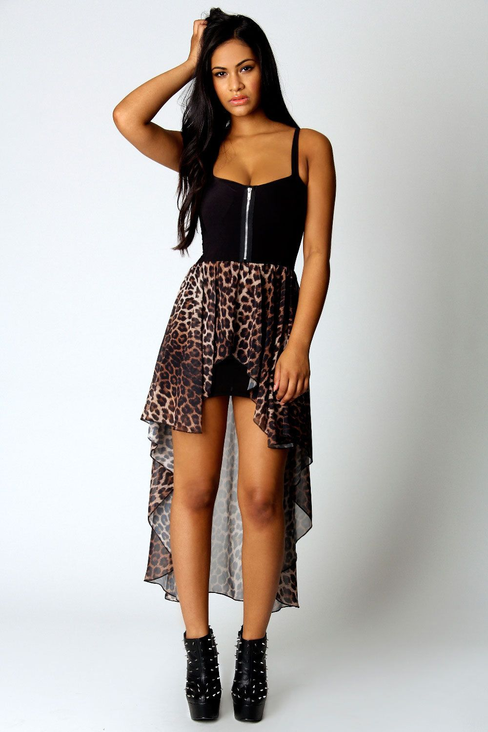 Leopard high low my style pinterest high low leopards and clothes