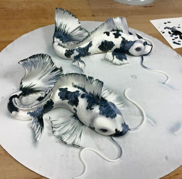 Amazing koi favorite cakes pinterest koi cake and fish for Amazing koi fish