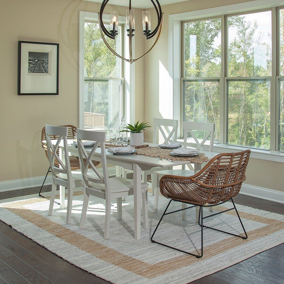 Home Staging Dining Room Table: Large Dining Table, Dining