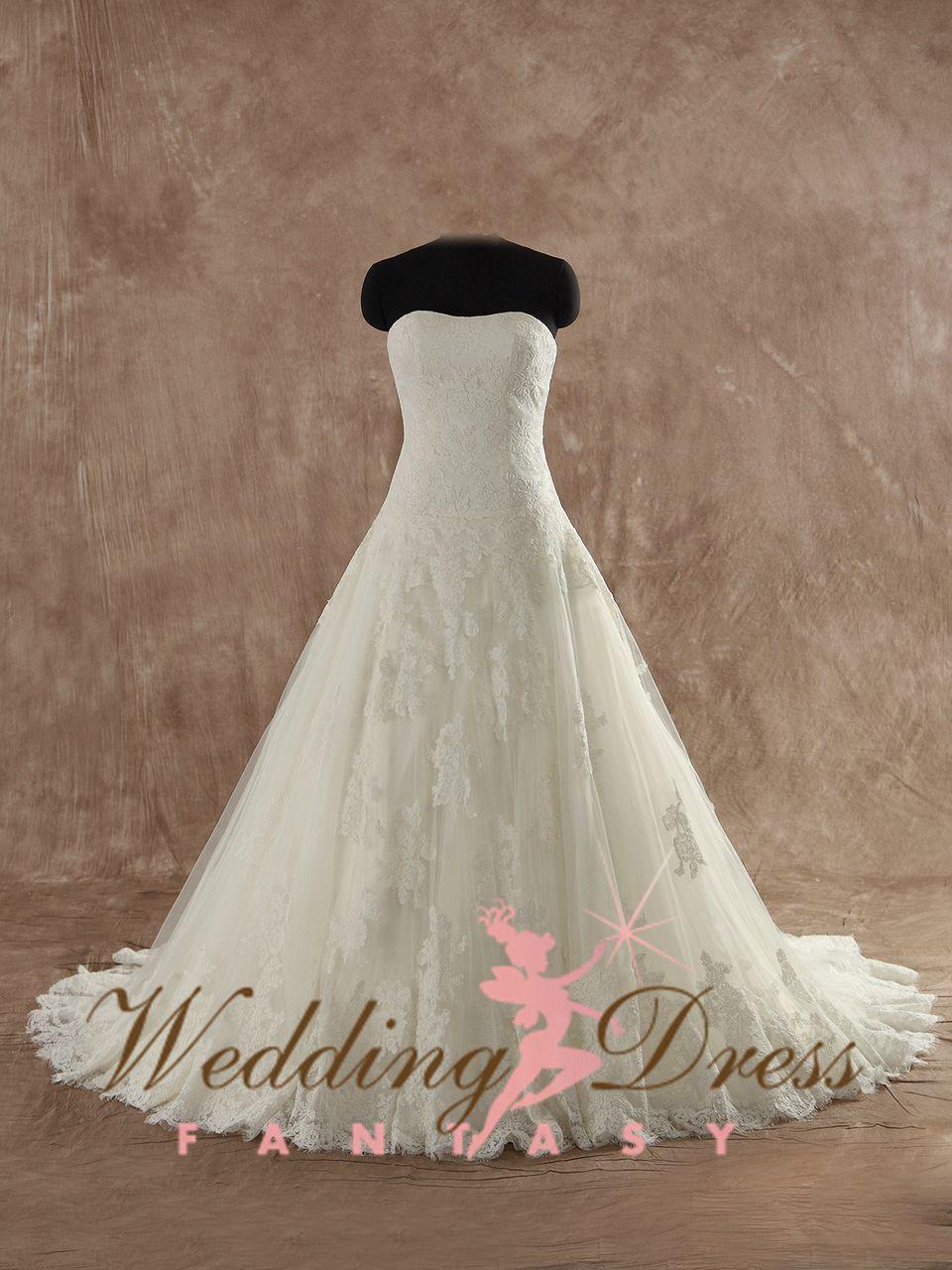 Gorgeous Aline Lace Wedding Dress | Lace wedding dresses, Lace ...