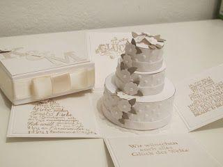 Herzliche Stempelgrüße: Explosion Box Hochzeit