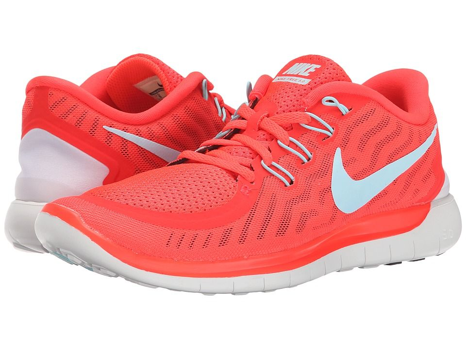 fc151f59b3e04 Nike - Free 5.0 (Bright Crimson-Black-Hyper Orange-Copa) Womens Running  Shoes on BuyFantasticShoes.com