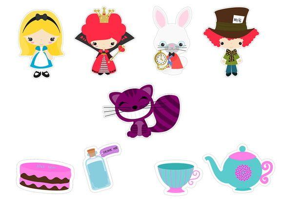 Aplique Alice Mod 6 Alice Todos Os Desenhos Alice No Pais