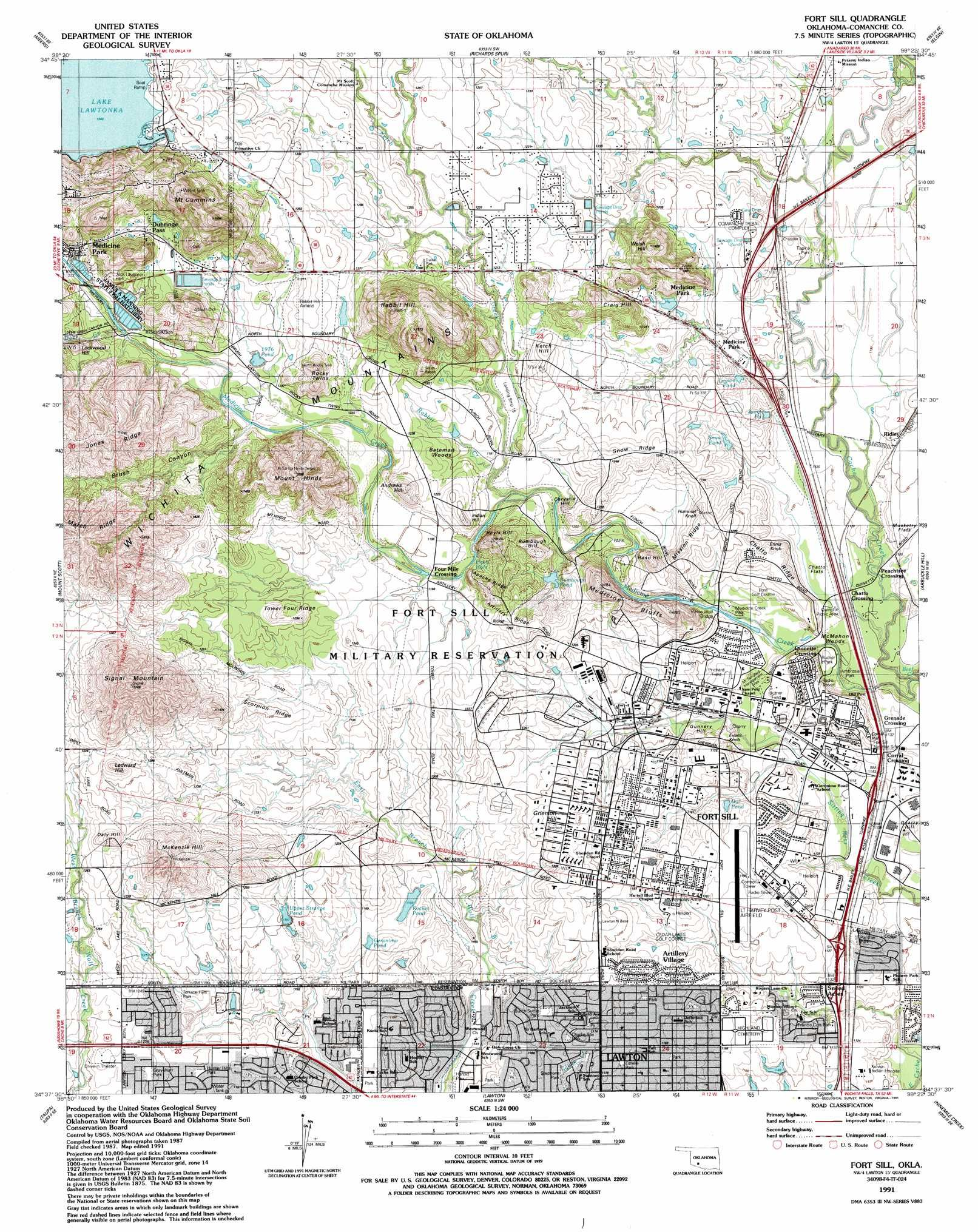 Topographic Maps Of East ~ Topographical Map Of Oklahoma