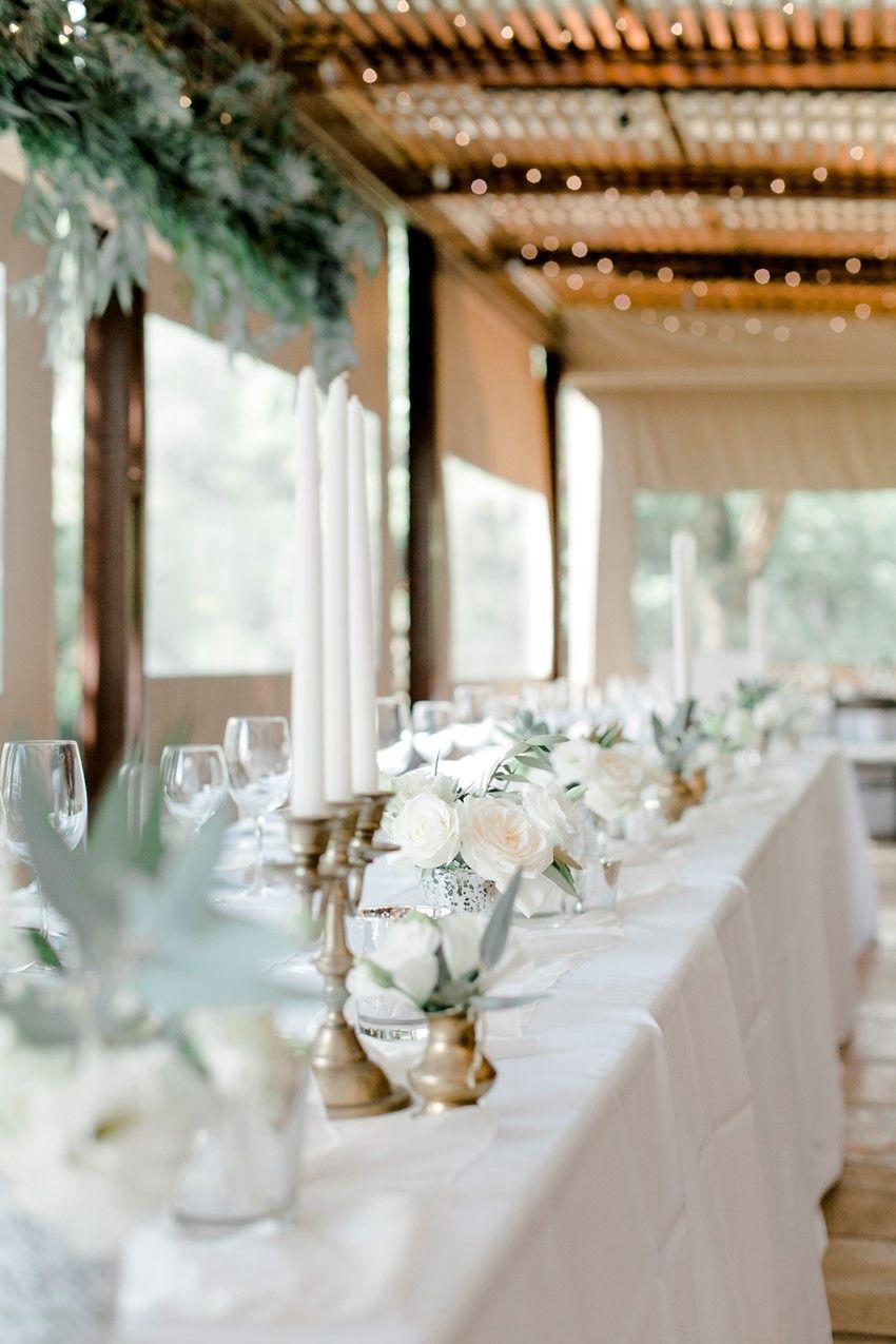 A Timelessly Romantic Modern-Vintage Wedding | Modern vintage weddings,  Alfresco wedding, Chic vintage brides