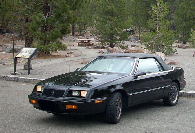 1991 Chrysler Lebaron Gtc Convertible