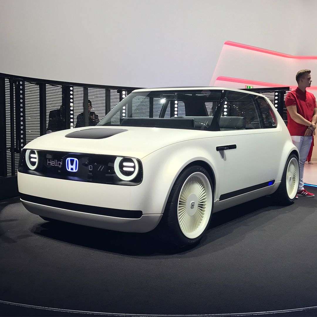 Honda Urban EV Concept Futuristic cars, City car