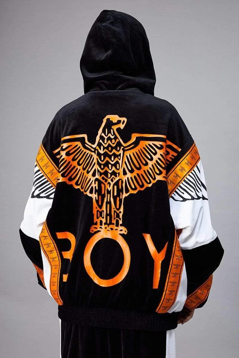 Boy Eagle Velour Track Top Boy London Boys Hoodies London Outfit [ 1200 x 800 Pixel ]
