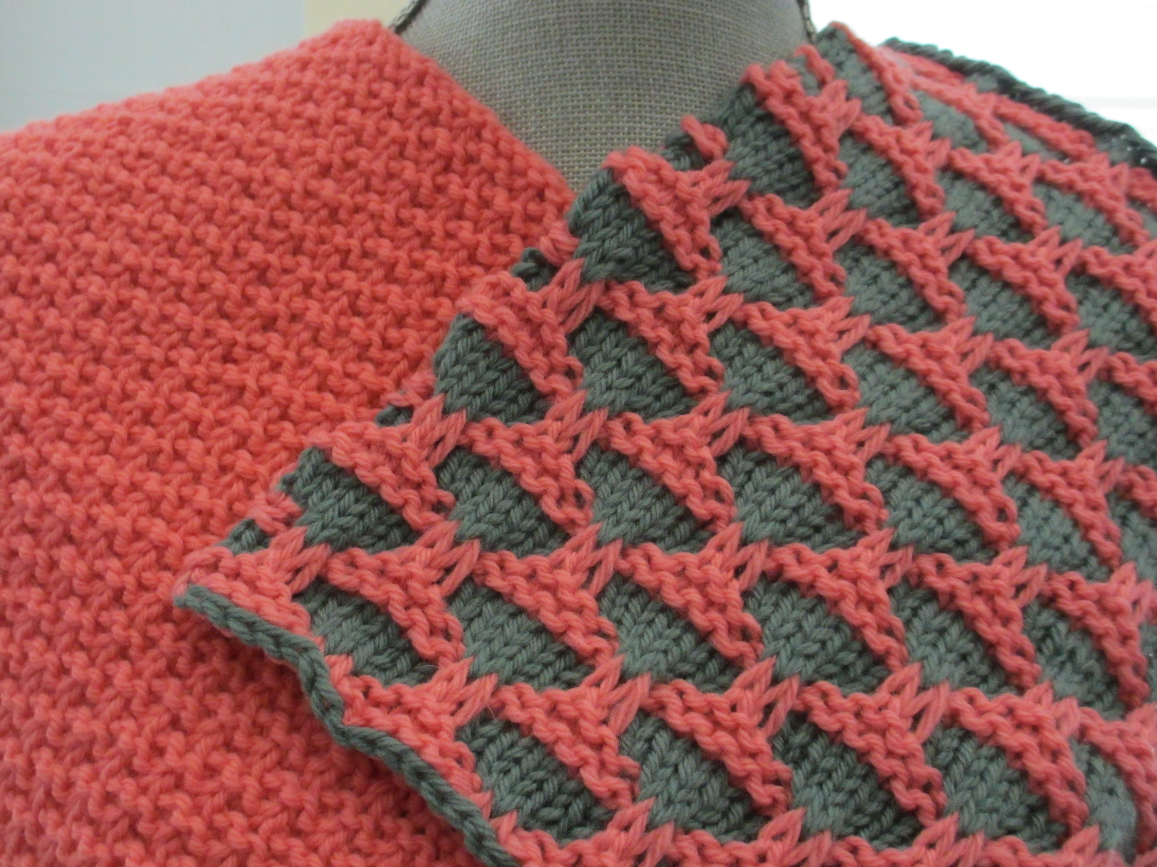 Creating motifs knitting traditional Fair Isle or Intarsia are not ...