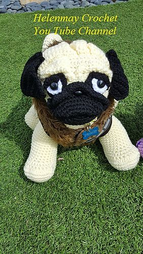 Cube Puppy Dog Amigurumi Pattern (With images) | Crochet cat ... | 500x282
