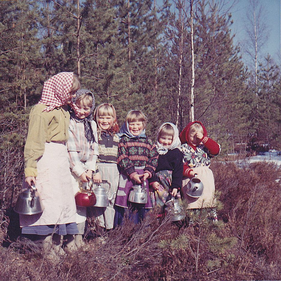 From duaedi, Ydrehammar, Sweden, 1964.