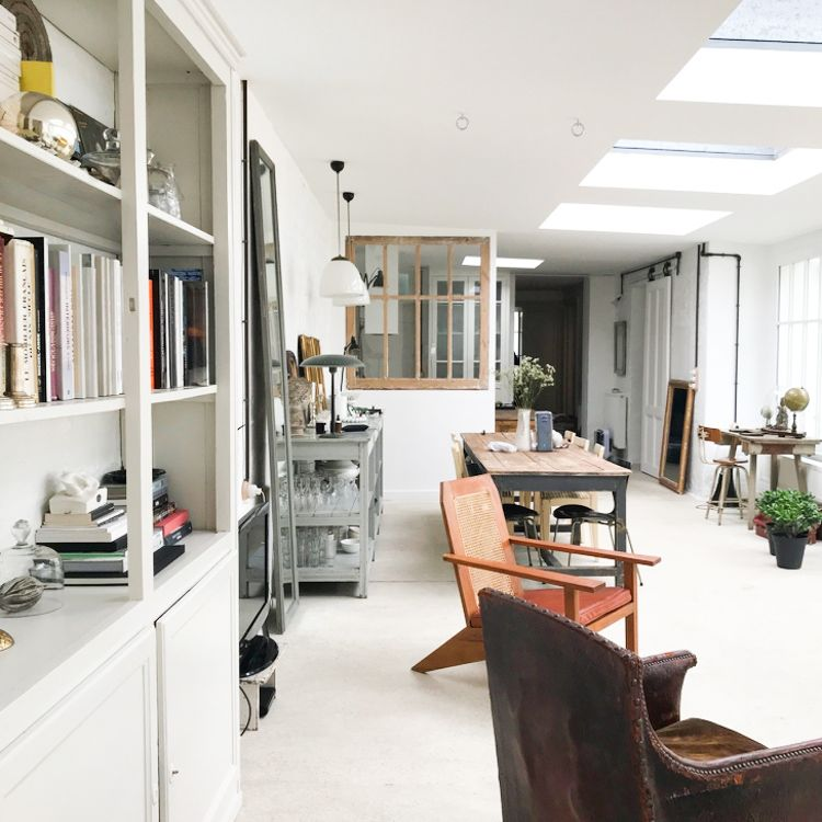 My Scandinavian Home A Beautiful Vintage Inspired Guest House In Reims In 2020 Home Remodelista Minimalist Home