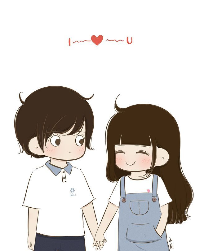 Pin By Rimanda On À¸§à¸­à¸¥à¹€à¸›à¹€à¸›à¸­à¸£ Cute Love Cartoons Cartoons Love Cute Couple Cartoon