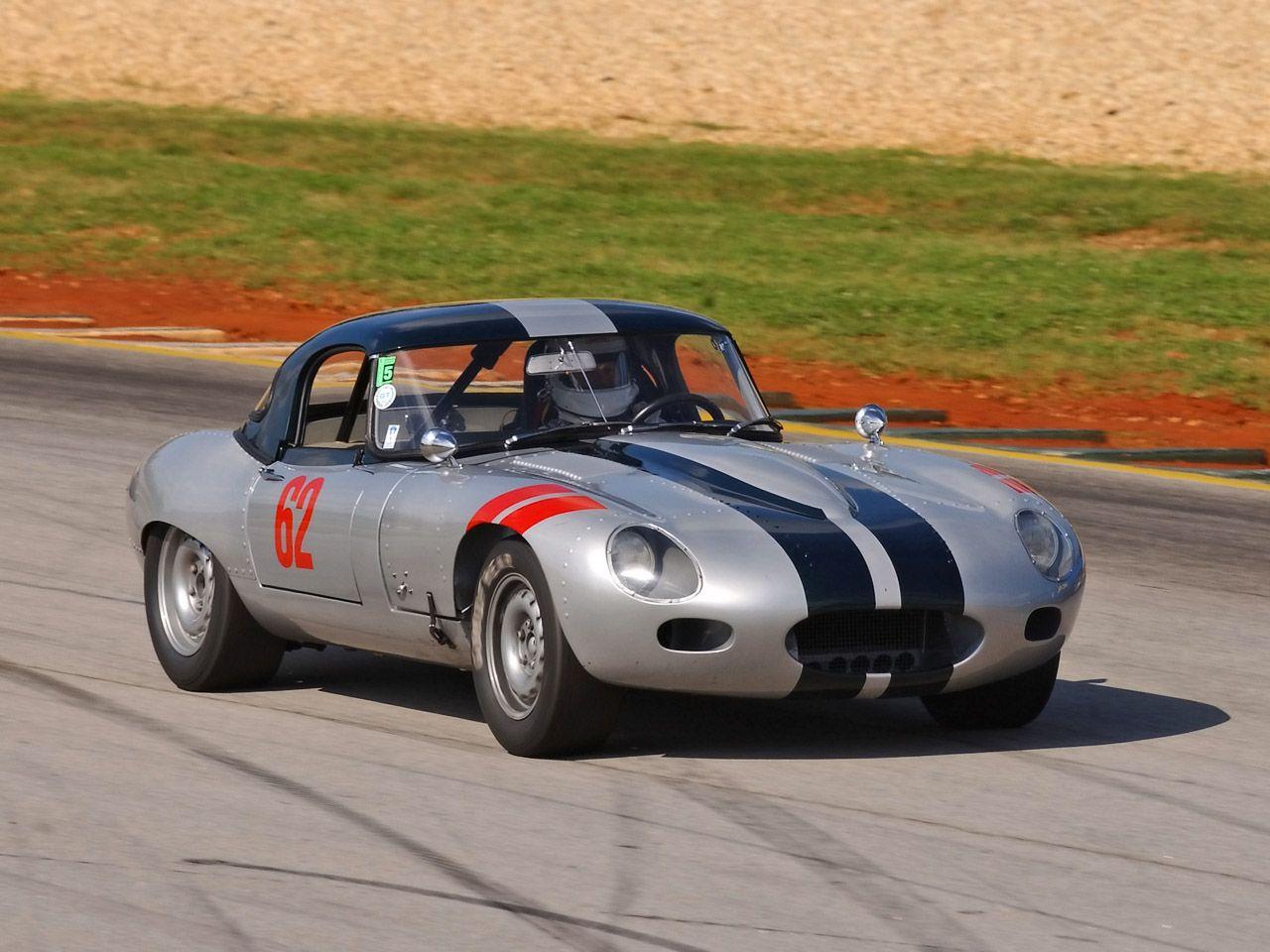 1962 Jaguar E-Type Roadster Race Car
