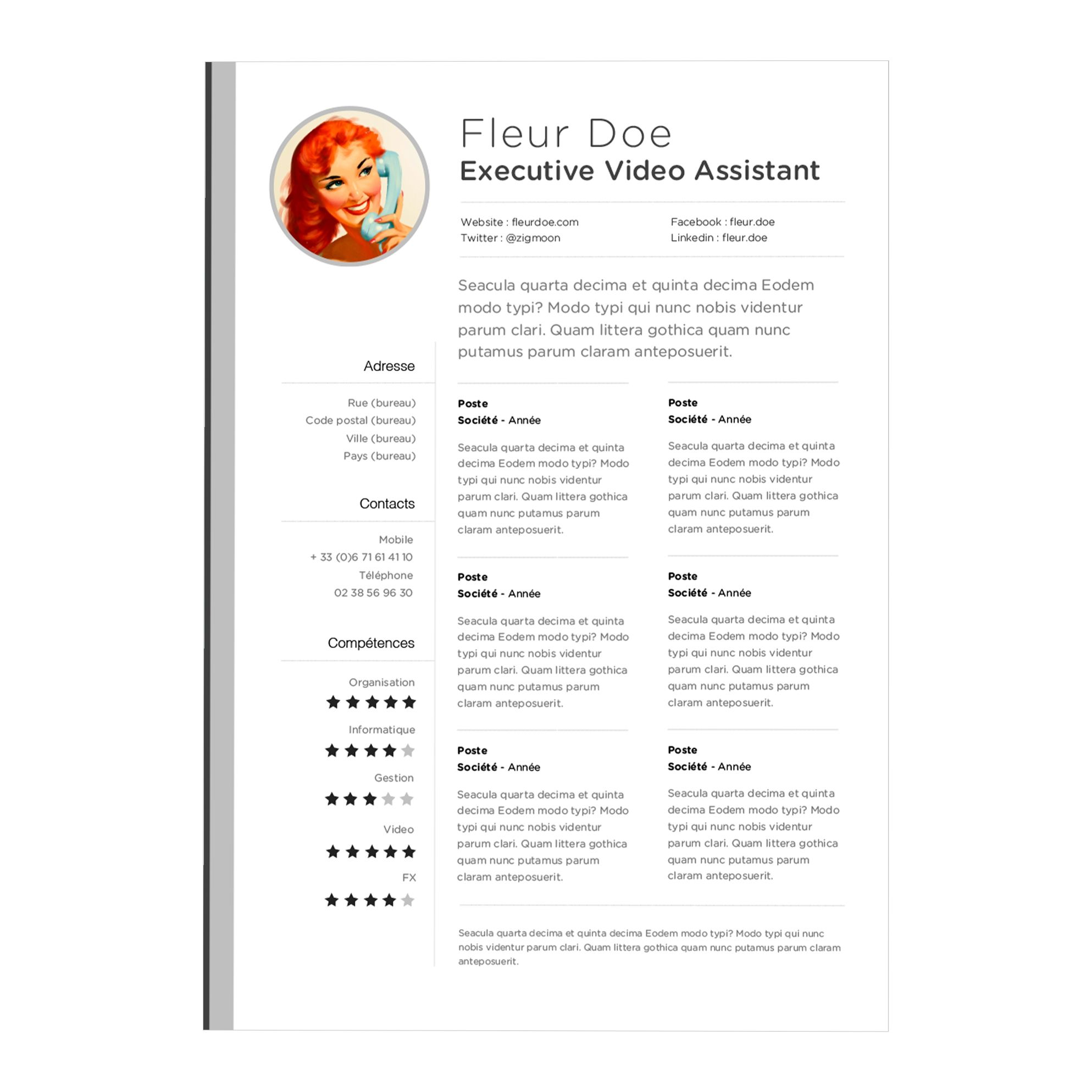 Resume Template Apple Pages
