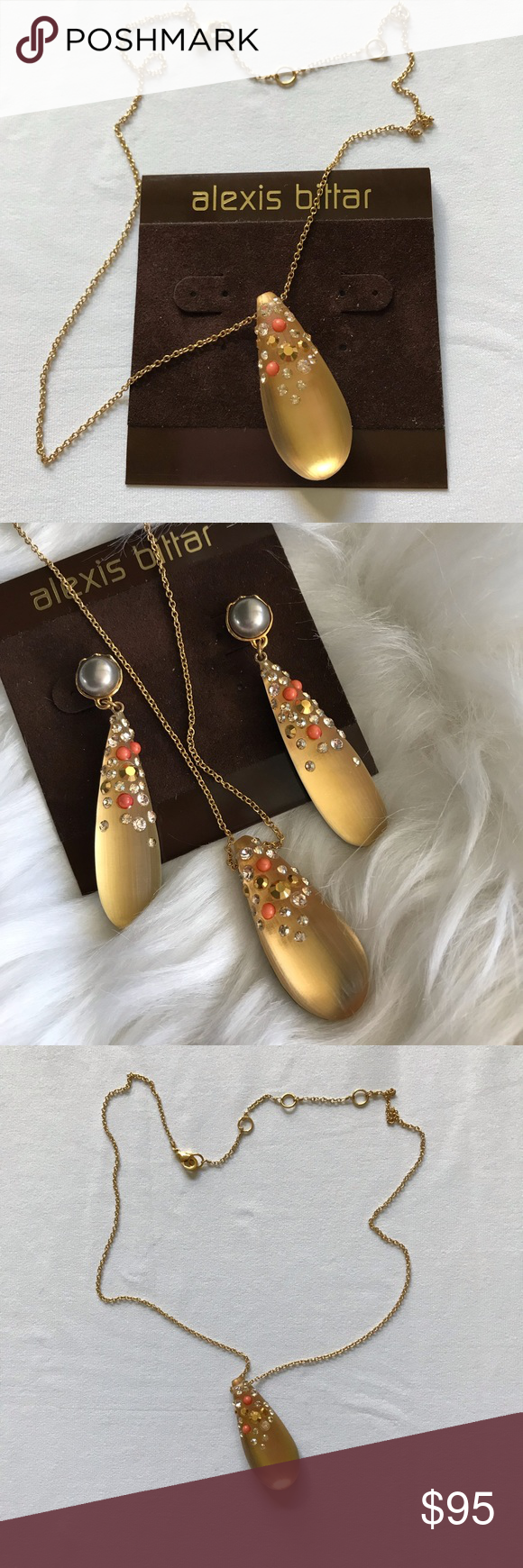 111627929ae Spotted while shopping on Poshmark  Alexis Bittar Pendant Necklace!   poshmark  fashion  shopping  style  Alexis Bittar  Jewelry
