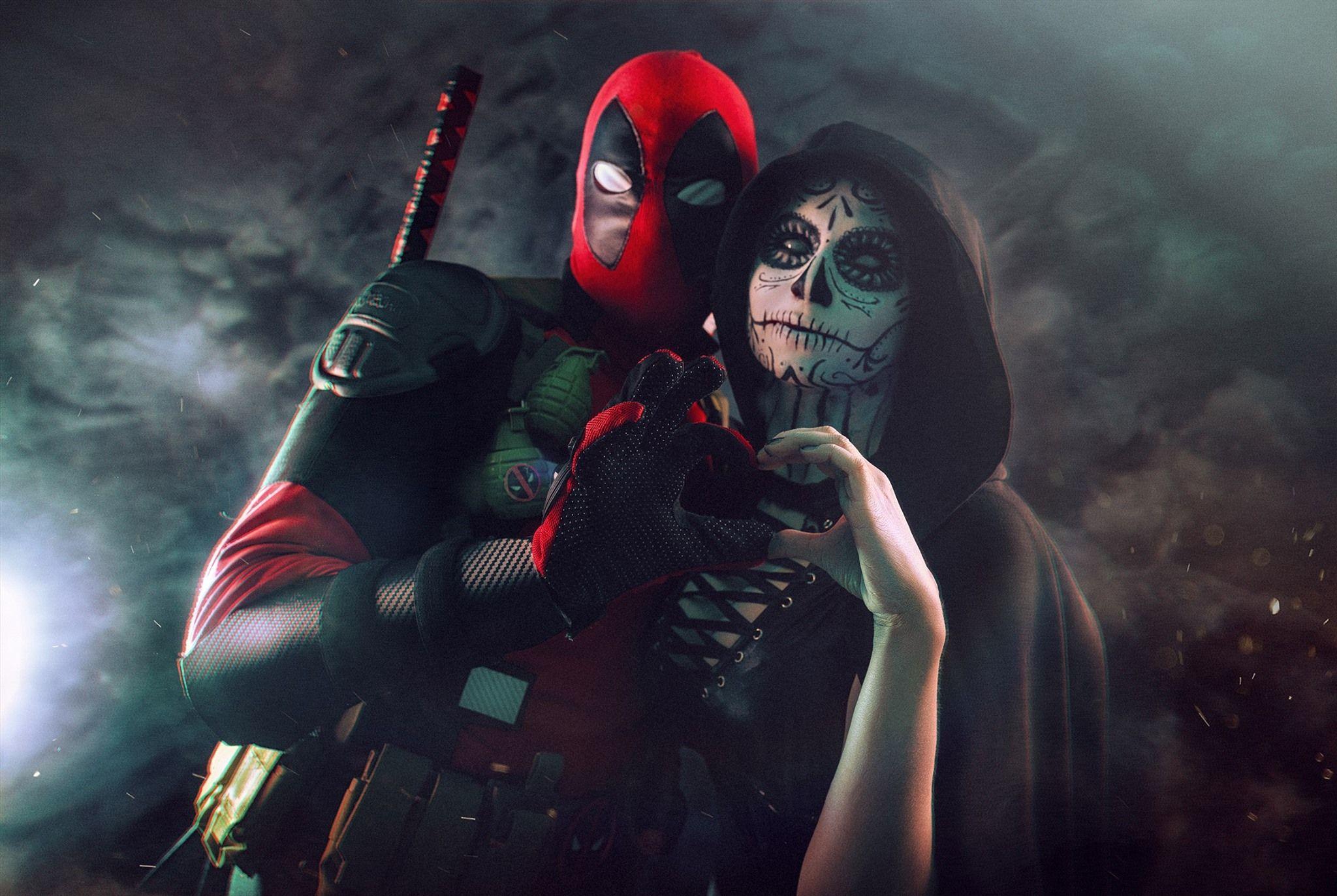 Death deadpool parody porn